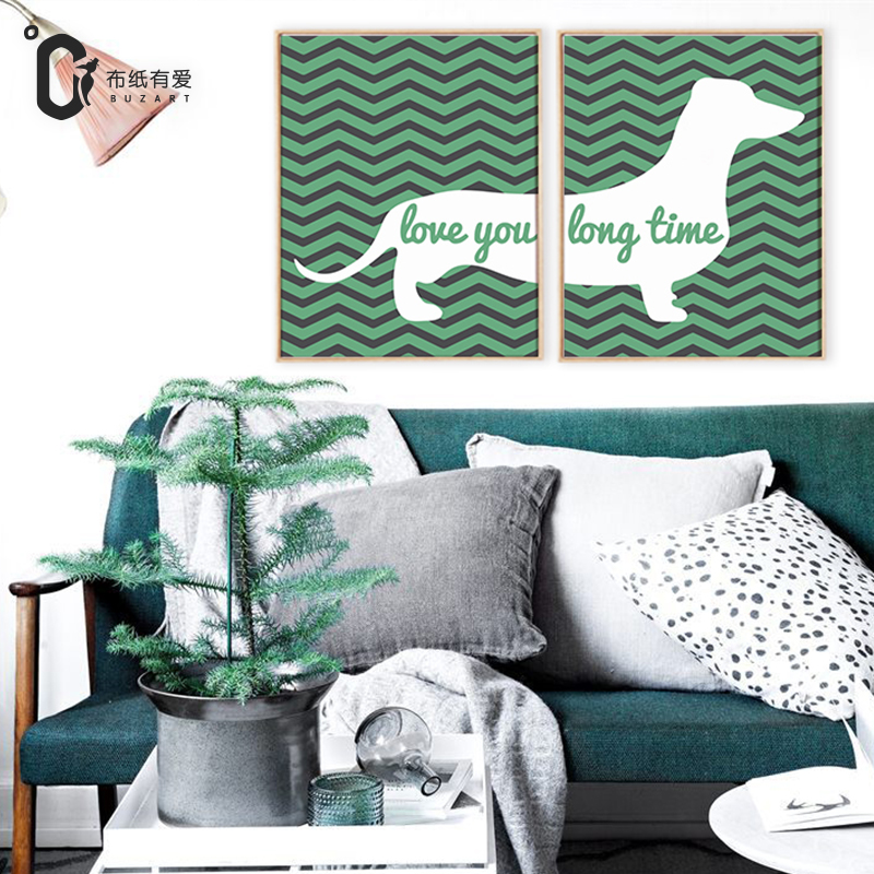 Love you long time Canvas prints for living room Posters and wall art posters home decoration No Frame