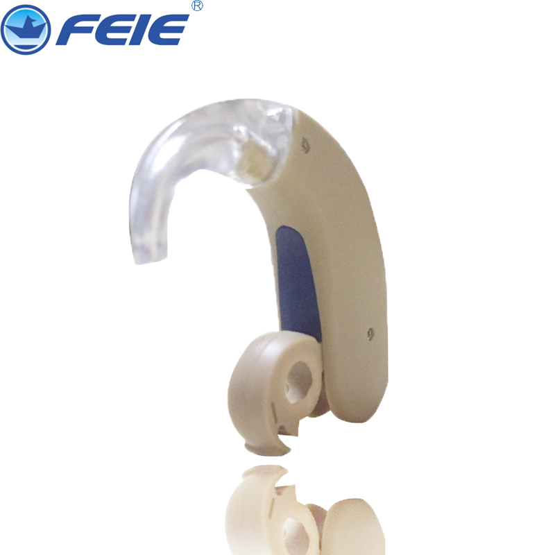 New BTE hearing aid mini device ear amplifier digital hearing aids behind the ear for deaf elderly acustico ear care S-303 стоимость