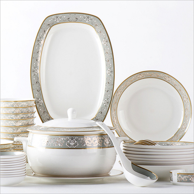 Fine china Dinnerware Sets WCL-12fine bone china cutlery/porcelain tableware set  sc 1 st  AliExpress.com & Fine china Dinnerware Sets WCL 12fine bone china cutlery/porcelain ...