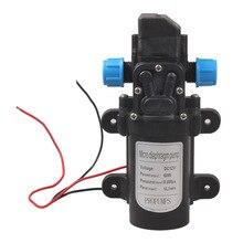 2016 Caliente de la CC 12 V 60 W de Alta Presión Micro Diafragma Bomba de Agua Interruptor Automático 8 m Gama 5L/min