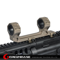 Greenbase Rifle Scope Mount 25mm 30mm Scope Ring With Scope Bubble Level For AR 15