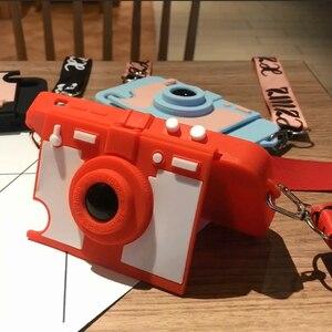 Image 2 - Новейший кошелек для камеры и карт, чехол для телефона iPhone 11 pro XS MAX XR X 7 8 plus 6 6s plus, мягкий силиконовый чехол на плечо с длинным ремешком