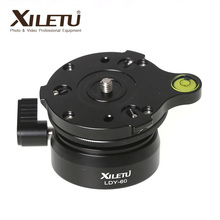 XILETU LDY-60 Tripod Head Panoramic platform horizontal adjustment professional hemisphere aerial photography