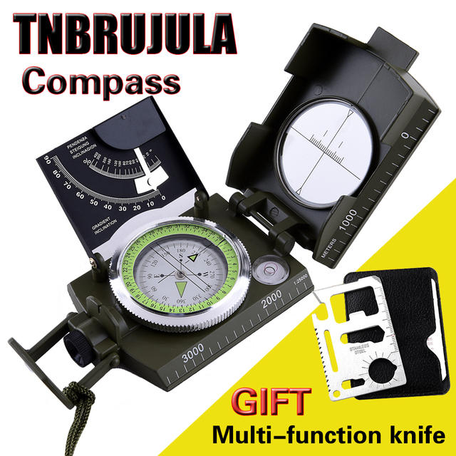 CHALLENGER Outdoor us military map compass portable survival compass