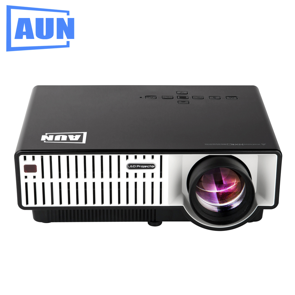 AUN Projector 3500 Lumens T31 LED Projector 1280 X 800 Quasi Professional Level Beamer for Home Theater Meeting Room Classroom