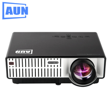 AUN Projector 3500 Lumens T31 LED Projector 1280 X 800 Quasi Professional Level Beamer for Home
