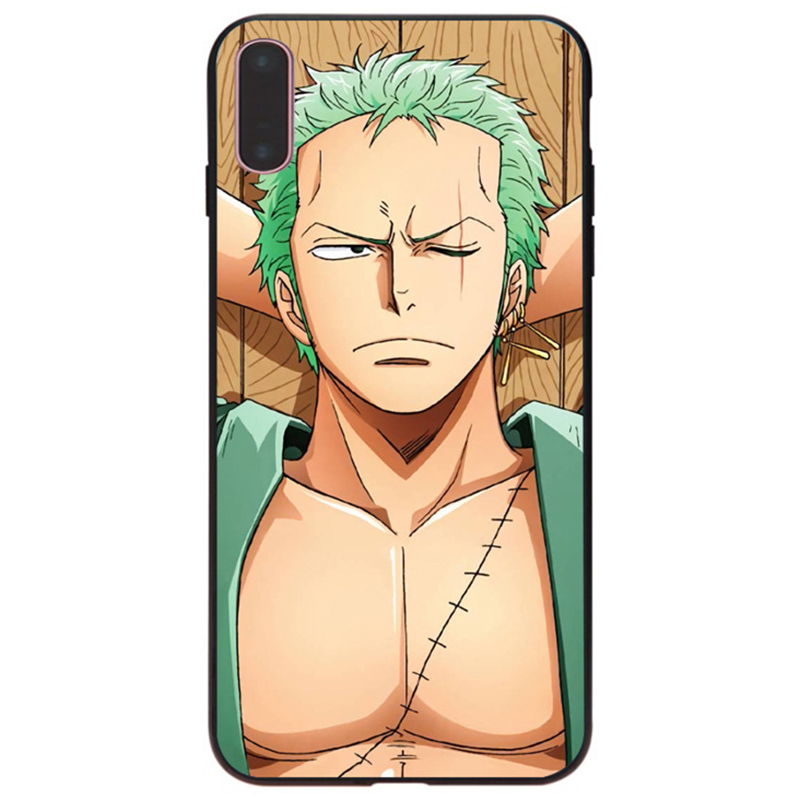 MaiYaCa One Piece Roronoa Zoro Coque Pattern tpu Soft Phone Accessories Cover Case For Apple iPhone X 8 8plus 7 7plus 6 6s Cover