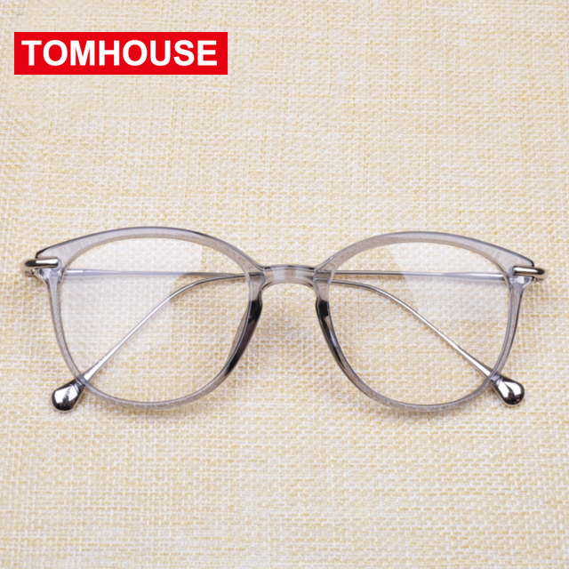 2cb4e3dca01 Clear Lens Fashion Transparent Glasses Frame Women Men Myopia Eyeglasses  Frames Vintage Glasses Prescription Spectacles