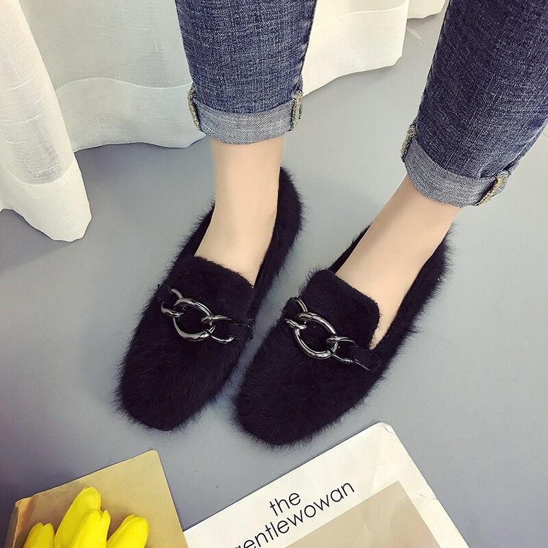 Aliexpress    Buy Fur Winter Donna Fur Buy scarpe Casual Slip On Female   82516b