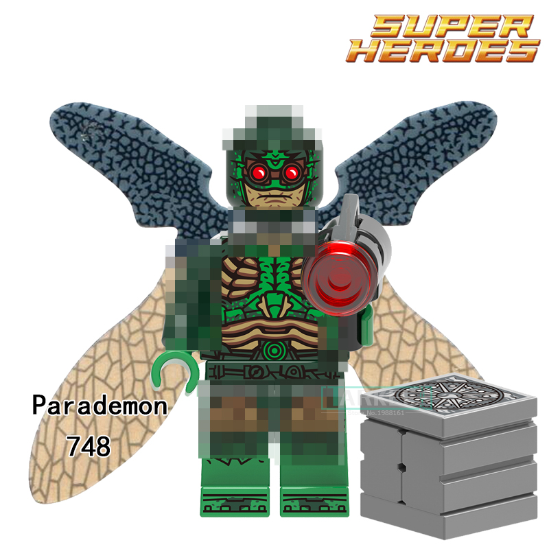 Building Blocks Parademon Aquaman Reverse-Flash Katana Super Hero Star Wars Set Bricks Dolls Kids DIY Toys Hobbies XH748 Figures single sale aquaman reverse flash parademon green lantern booster gold power girl katana building blocks toys for children x0177
