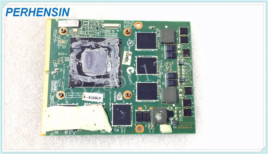 Video-Card GTX560M P150HM FOR Hasee GRAPHICS CLEVO 6-77-W860L-D12-K N12E-GS-A1 100%Work-Perfectly
