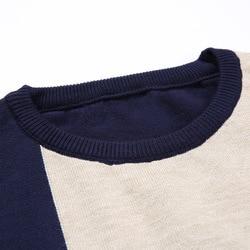 2019 Autumn Casual Men's Sweater O-Neck Slim Fit Knittwear Mens Sweaters Pullovers Pullover Men Pull Homme M-3XL 3
