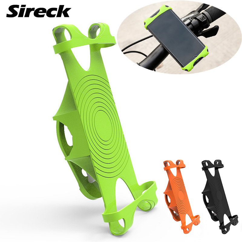 Sireck Bike Phone Holder For Smart Mobile Cell Phone Holder Bike Handlebar Mount Bracket GPS Stand Bicycle Phone Holder bicycle phone holder universal mtb bike handlebar mount holder cell phone stand bicycle holder cycling accessories parts