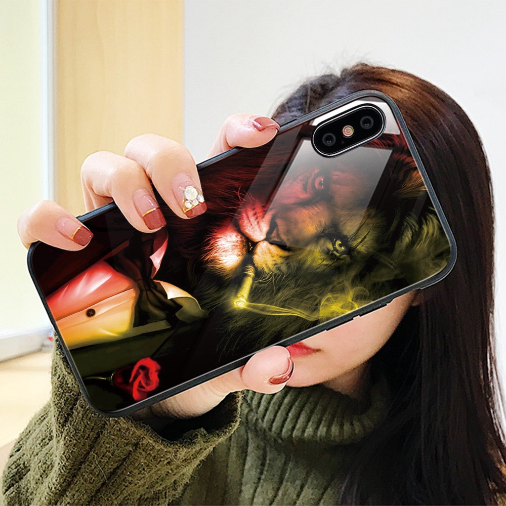 27dd287860c Flip Stand vista espejo inteligente caso para iphone 6 6 S 7 7 Plus de lujo