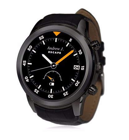 Lonzune Mini Smart Watch OS WCDMA and GPS for IOS and Android font b Smartwatch b
