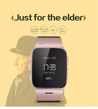 New D99 Elderly Tracker Android Smart Watch Google Map SOS Wristwatch Personal GSM GPS LBS Wifi Safety Anti-Lost Locator Watch