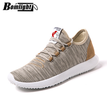Bomlight Brand Men Vulcanize Shoes Lightweight Breathable Flats Men Shoes Loafers Casual Shoes Men Trainers Sneakers Tenis 35-48