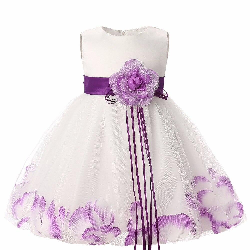 ٩( ‿ )۶2018 Nouveau Arc Sans Manches robe enfants Robes pour la fête ... d4ff8aa80ca
