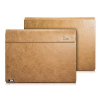 Surface Book 2 Wax Oil Genuine Leather Protect Case Laptop Sleeve Detachable Folio Cover for Microsoft Surface Book 13.5 Inch
