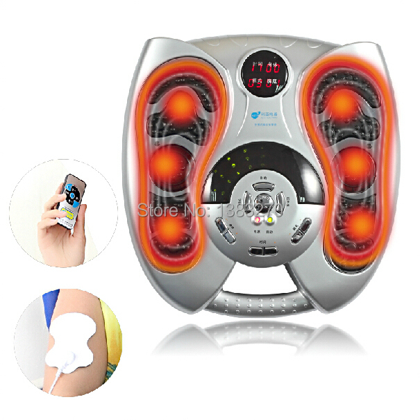 Health care NEW heating therapy foot massage machines foot sole blood circulation Stimulation electric foot massager healthsweet electric antistress foot massager foot massage machines heating viberation foot care device leg massage