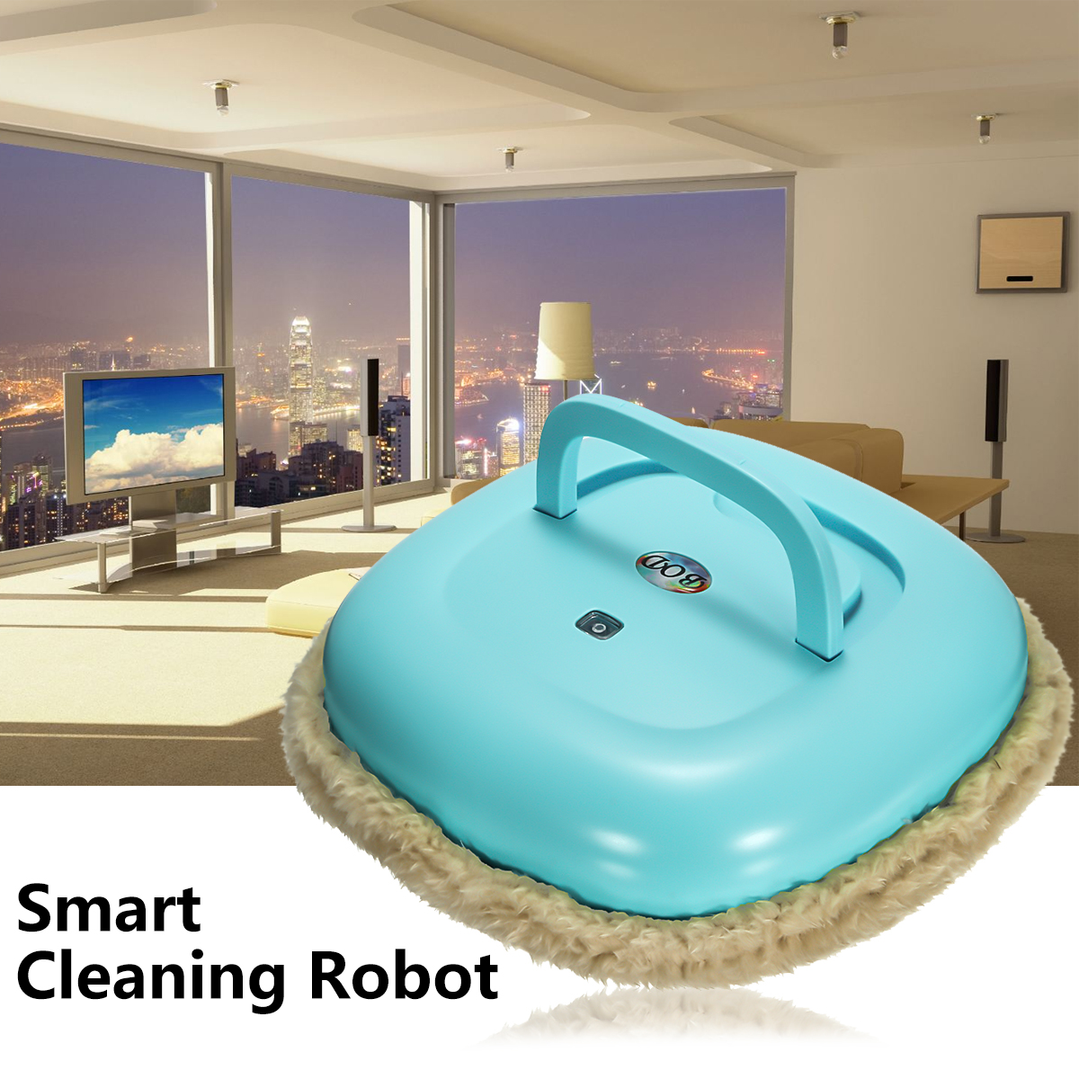 Ultra Thin Mopping Robot Auto Vacuum Cleaner Household Dry or Wet Cleaning Robots Low Noise Suitable for Office Living Room