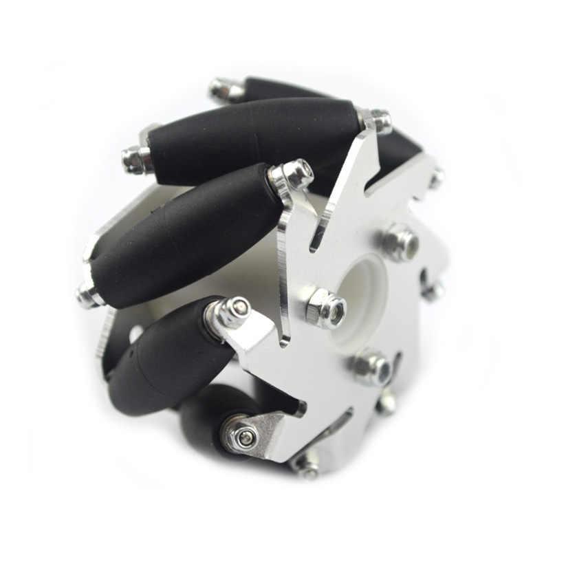 UniHobby 60 мм колесо Mecanum для Робот ардуино проект L E G O NXT и сервопривод с пластиковыми универсальные втулки (4 колеса Mecanum/пакет)