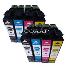 8 Pack T220XL Black + Color Non-OEM T2201 T2202 T2203 T2204 Ink Cartridge For Epson XP320 XP420 XP424 WF-2630 WF-2650 WF-2660