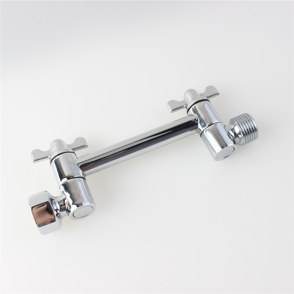 Aliexpress.com : Buy Brass 4 Inch Adjustable Height Shower Arm By Bathlogix  Shower Arm Extension For Shower Head From Reliable Shower Arm Extension ...