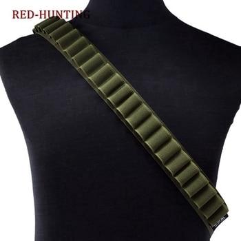 Tactical 26 Rounds Cartridge Shoulder Belt 12 Gauge Ammo Holder Outdoor Military Airsoft Hunting Gun Accessories Shell  Belt 5