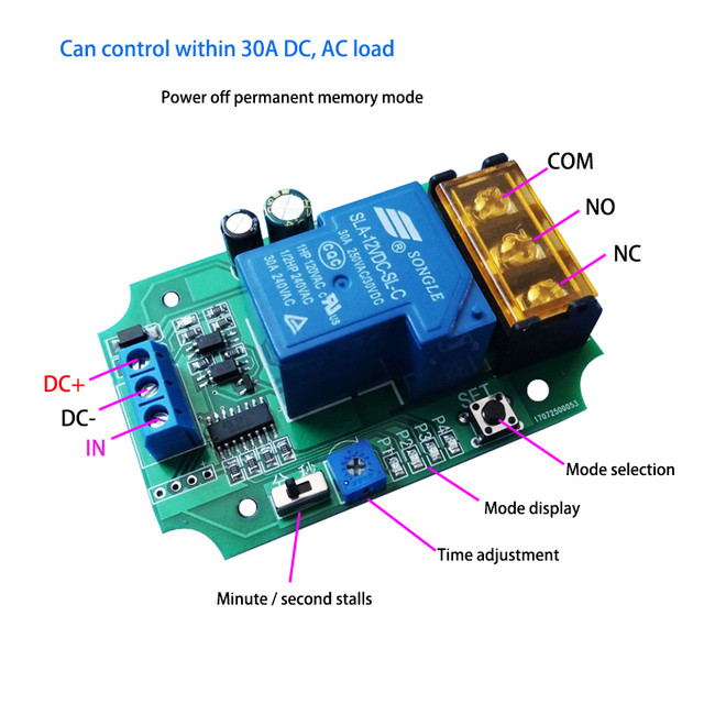 Studded Power Relay Module - Wiring Diagrams •