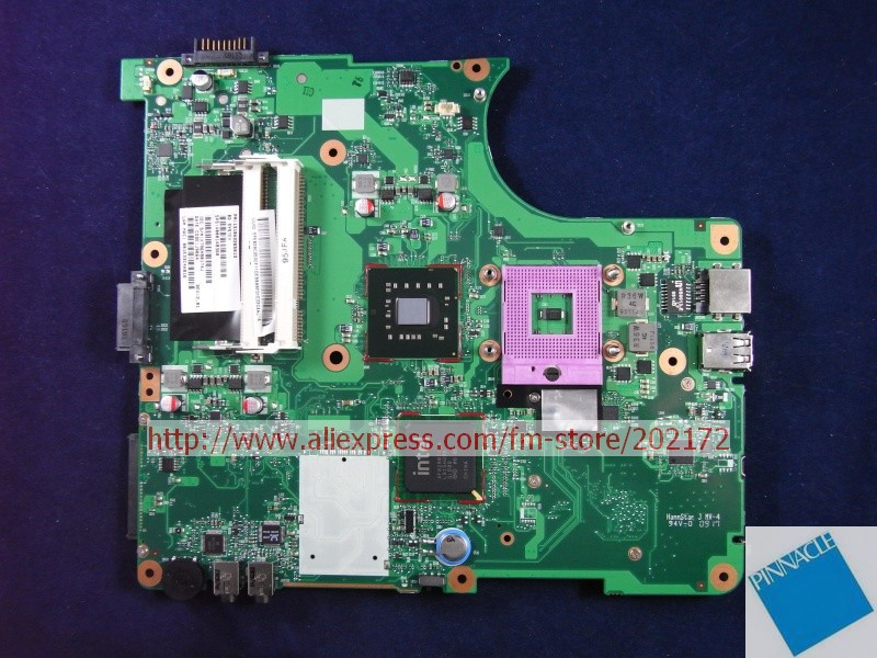V000148360 MOTHERBOARD FOR TOSHIBA Satellite L350  6050A2264901 TESTED GOOD nokotion sps v000198120 for toshiba satellite a500 a505 motherboard intel gm45 ddr2 6050a2323101 mb a01