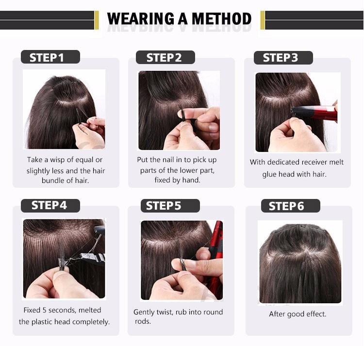 do cabelo ferro queratina ligação ferramenta ajustável