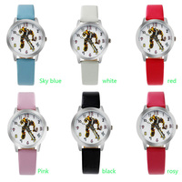 ot01 Children Watches Transformers Girls Boys Waterproof Quartz Watch Cute Cartoon Primary School Watches