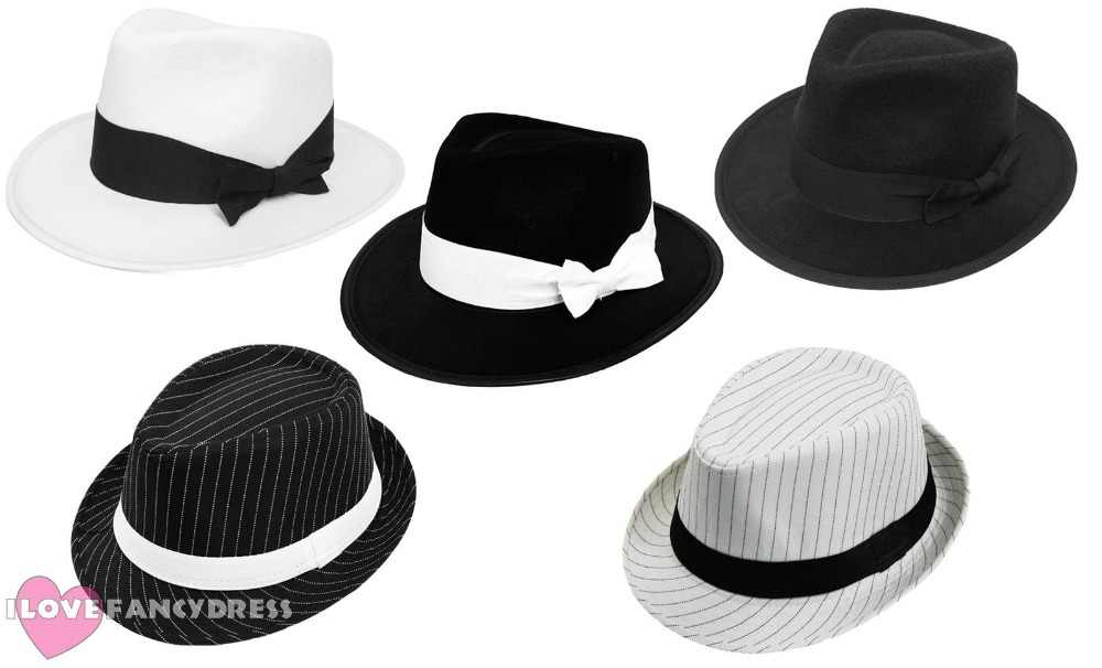 9f3fae85196aa Detail Feedback Questions about 2018 QUALITY ADULT GANGSTER HAT 1920 S  FANCY DRESS TRILBY AL CAPONE GATSBY MEN WOMEN DANCE DANCING STAGE COSTUME  ACCESSORY ...