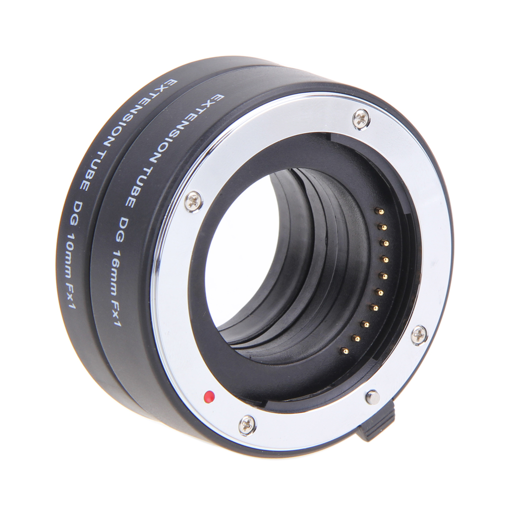 ALLOET Black Camera Lens Adapeter Autofocus Macro Tube for Fuji FX Camera X Pro1 X E1