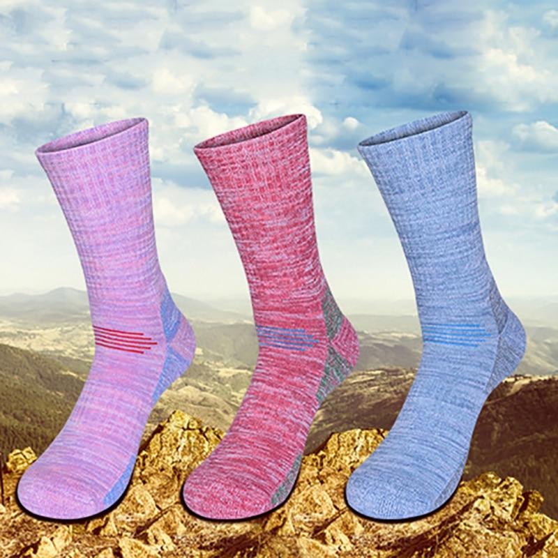 Men & Women Outdoor Sports Sock Popular Ski Cycling Athletic Hiking Sock Professional Anti-friction Breathable Socks