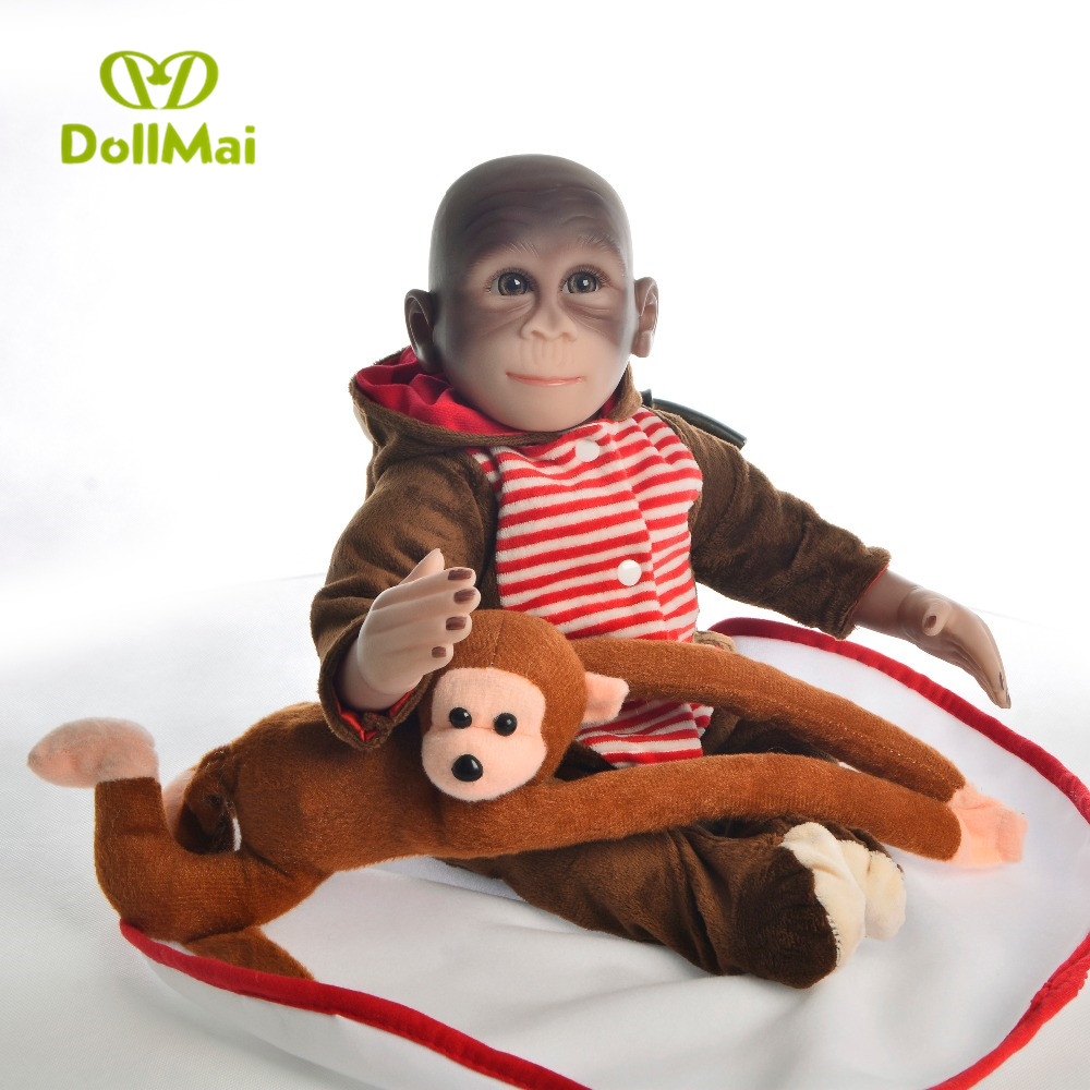 Macaco bonecas reborn 19
