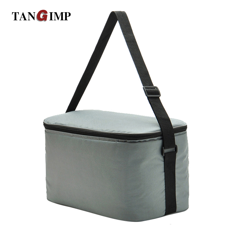 TANGIMP 18L Cooler Bags Lunch Box Insulation Package Work School Picnic Food Bags Drinks Large Car Ice Pack Tableware Package