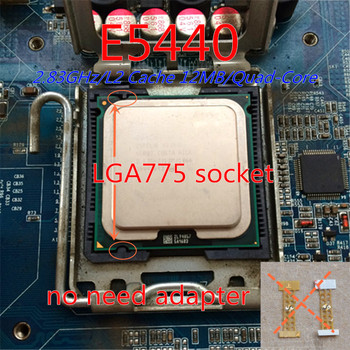 XEON E5440 CPU 2.83GHz /LGA771/L2 Cache 12MB/Quad-Core/FSB 1333MHz/45nm/ Processor close to q9650 work on 775 socket mainboard