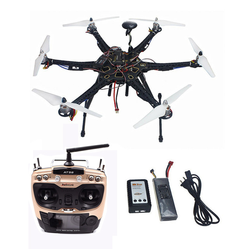 Tarot HMF S550 F550 Frame with Landing Gear Brushless ESC APM 2.8 Flight Controller GPS 9443 Propeller Aircraft Upgrade RTF rc aircraft accessories set frame arm motor propeller holder esc flight controller cover board