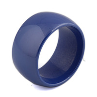 High Quality 10 5mm Polished Blue Ceramic Wedding Rings For Men