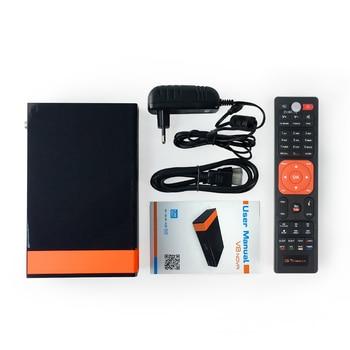 Fta Satellite Receiver | GT Media V8 Nova DVB-S2 Freesat Satellite Receiver V8 Super New Version H.265 WIFI+2Year Europe Spain PT DE PO CCcam TV Decoder