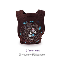 High Quality Baby 3 In 1 Mei Tai Baby Carrier Breathable Infant Sling Backpack Pouch Wrap
