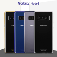 100 Original Samsung Note8 N950F Case Transparent Protective Shell Ultra Slim Back Protective Case For Note8