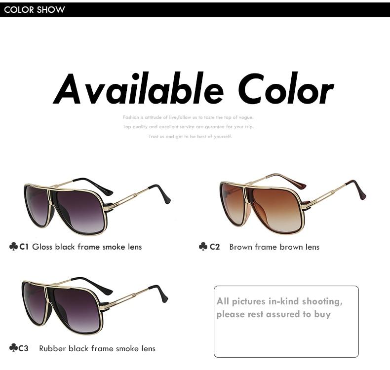 Square Gold Sunglasses
