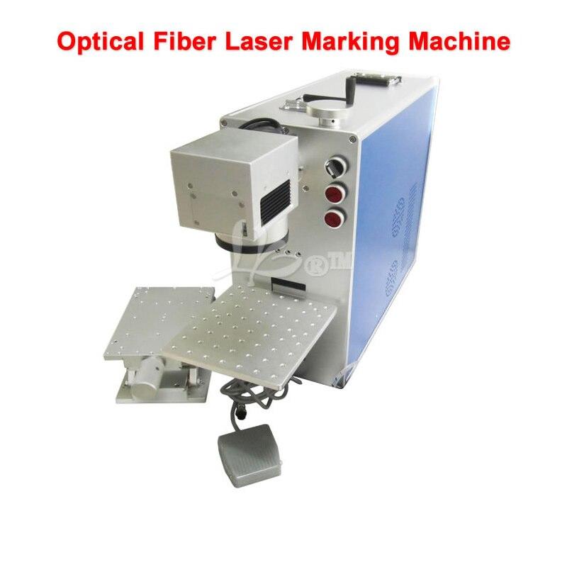 Le plus nouveau modèle LY fibre 1010 machine de marquage laser optique 20 W pour métal bois pvc plastique