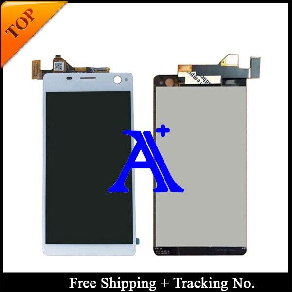 White/Black Color - 100% tested original For Sony Xperia c4 E5303 E5306 E5333 E5343 E5353 E5363 LCD Digitizer  Assembly