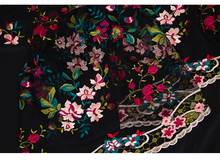 african lace Fabric 2016 Colored water soluble lace embroidery fabric autumn new women's fashion dress wedding dress patchwork