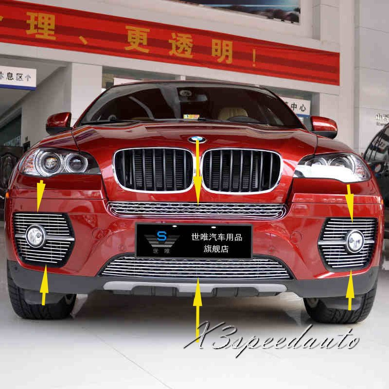 For BMW X6 2008 2009 2010 2011 Grill Grille Front Center