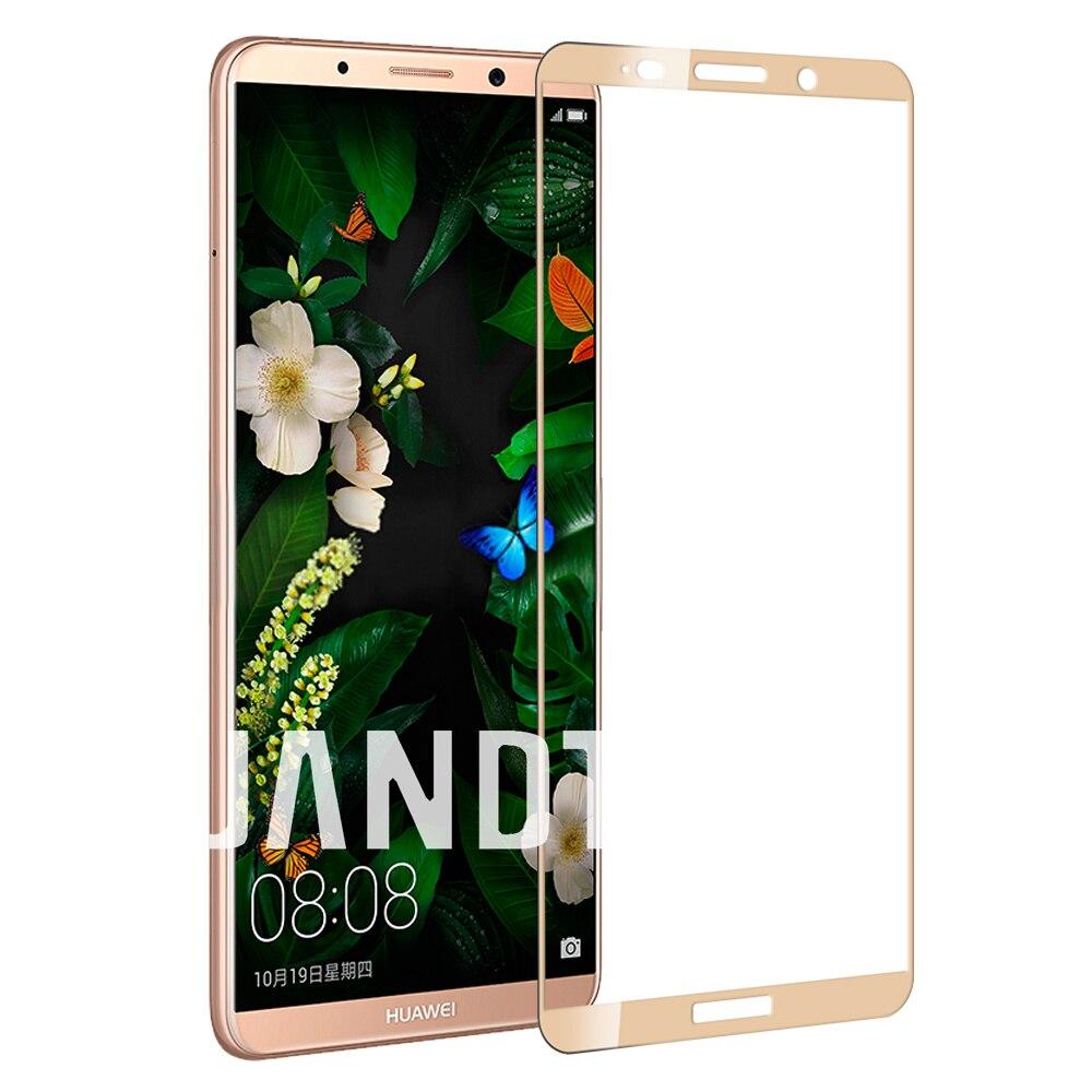 Для huawei mate 10 pro защита экрана закаленное стекло Полный Чехол чистые пузырьков accessarie